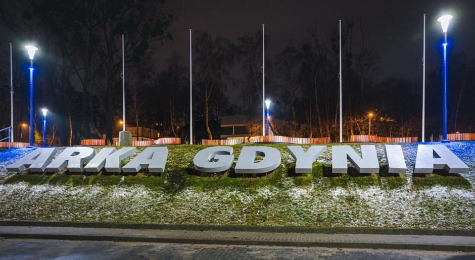 Skwer Arki Gdynia zyskał nowe, efektowne oświetlenie