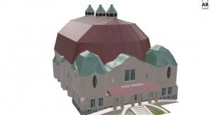 Budynek nieistniejącego już kina Wanda zrekonstruowany w technologii 3D