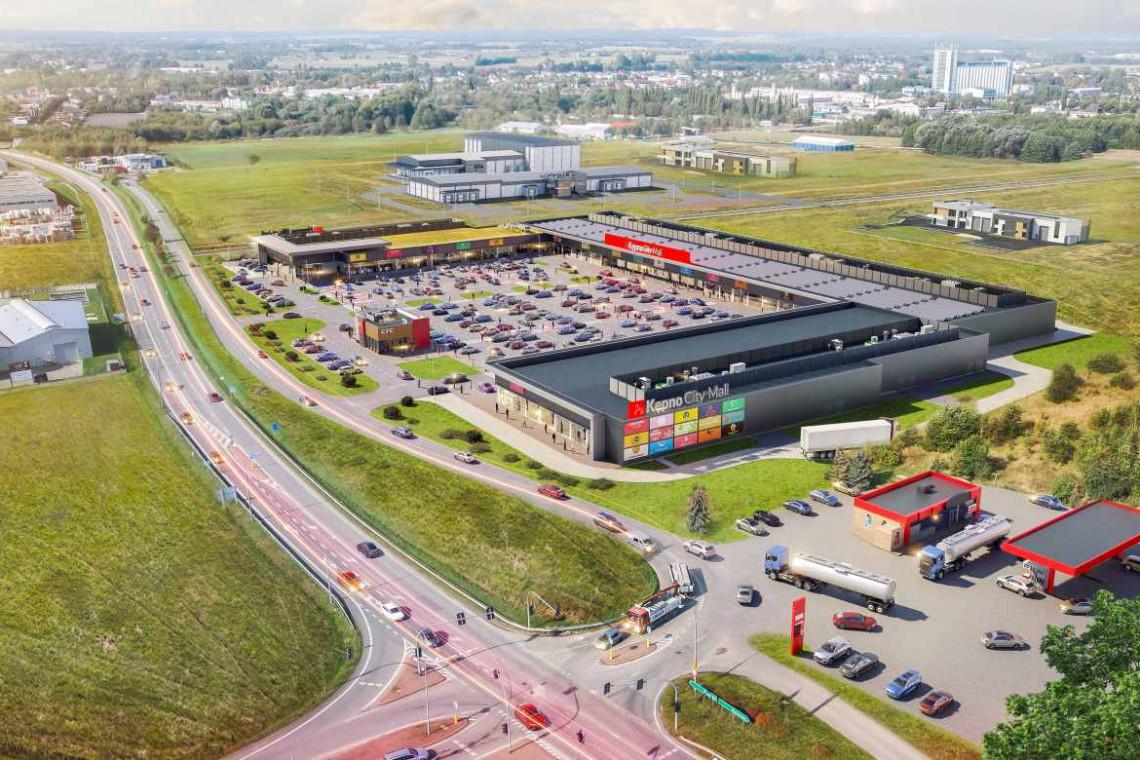Nowa bryła handlowa w Kępnie. To będzie największy taki park w regionie