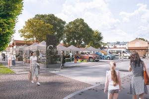 Gdańsk się zmienia. Zobacz Rynek w Oliwie w nowoczesnej odsłonie