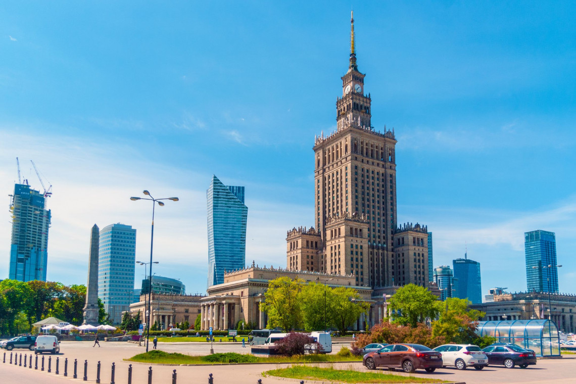 Ponad 50 km ulic Warszawy obsadzonych drzewami, krzewami i bylinami