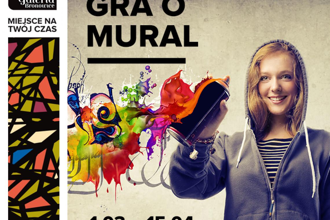 Konkurs na mural. Galeria Bronowice czeka na oryginalne projekty!