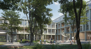 Nowy budynek dla Uniwersytetu Warszawskiego autorstwa architektów Kuryłowicz & Associates