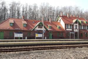 Zabytkowy dworzec na Dolnym Śląsku już po modernizacji
