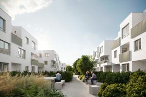 Kuryłowicz & Associates zaprojektowali nowe osiedle w Ursusie-Gołąbki