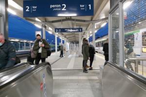 Zmodernizowana stacja Rzeszów Główny będzie mieć nowy system informacji