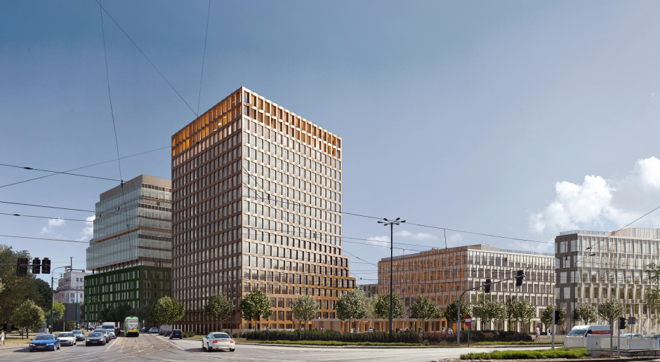 Nowy Rynek w Poznaniu coraz większy. Rusza budowa budynku spod kreski JEMS Architekci