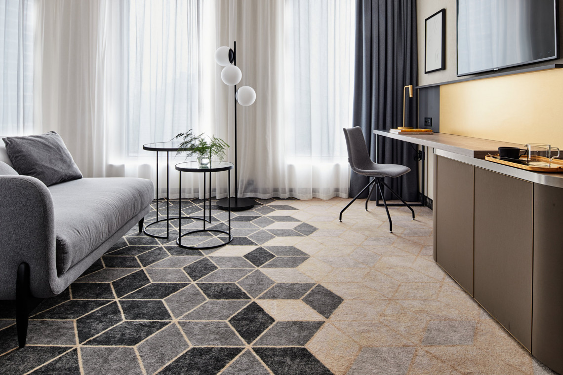 Case study: podłogi w hotelowych wnętrzach The Warsaw Hub