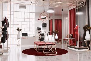 Projektowanie sklepów krok po kroku: tworzymy wnętrze luksusowego butiku