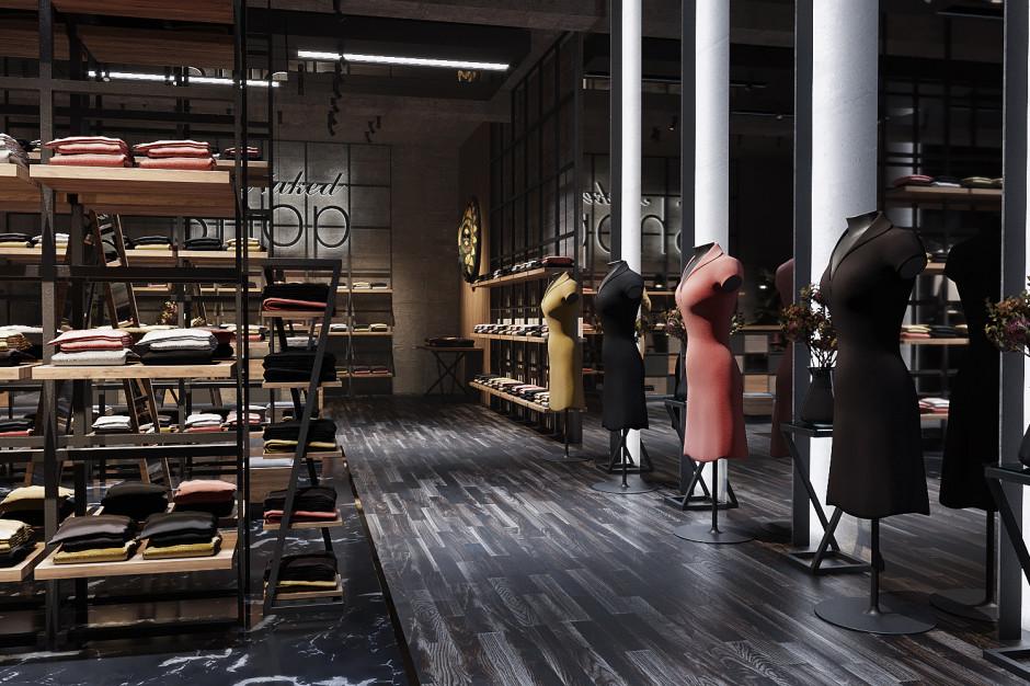 Czerń, antracyt to kolory kojarzące się z siłą, elegancją i tajemniczością. Idealnie wpiszą się w aranżację luksusowego butiku.