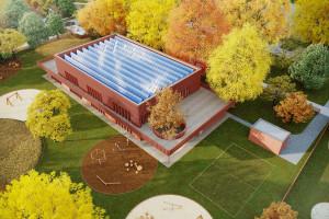 Energoefektywne przedszkole w Michałowicach. Zobacz koncepcję M.O.C Architekci