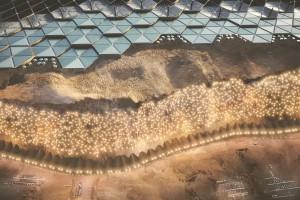 Tak może wyglądać życie na Marsie już w 2054 roku. Zobacz nieziemski projekt biura Abiboo