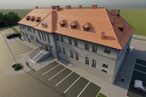 Dworzec w Oleśnie zalśni nowym blaskiem. To projekt pracowni Sankon