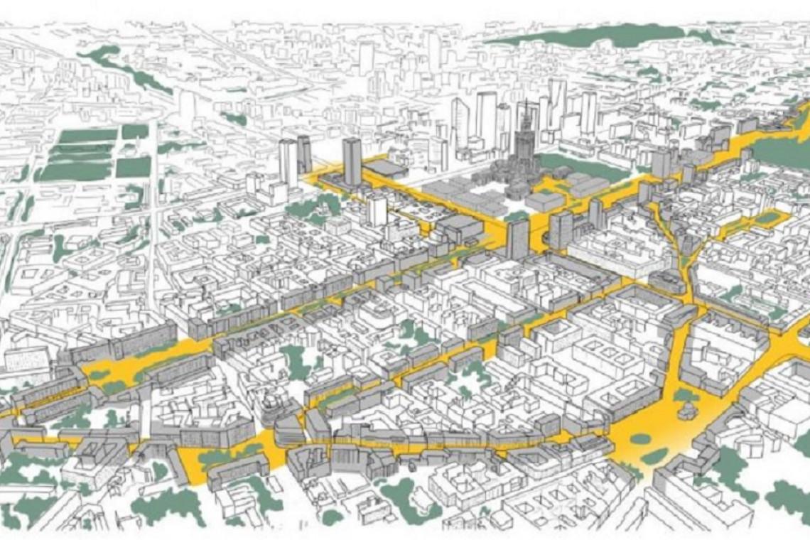 Nowe Centrum Warszawy. Aż 23 propozycje przemiany rejonu ulic Złotej i Zgoda
