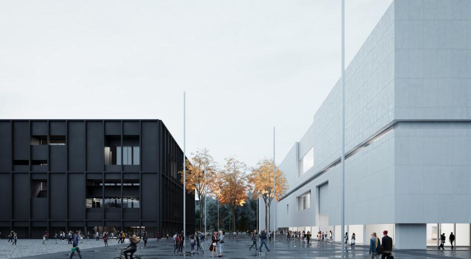 Muzeum Sztuki Nowoczesnej z przestrzenią do zabezpieczania zbiorów