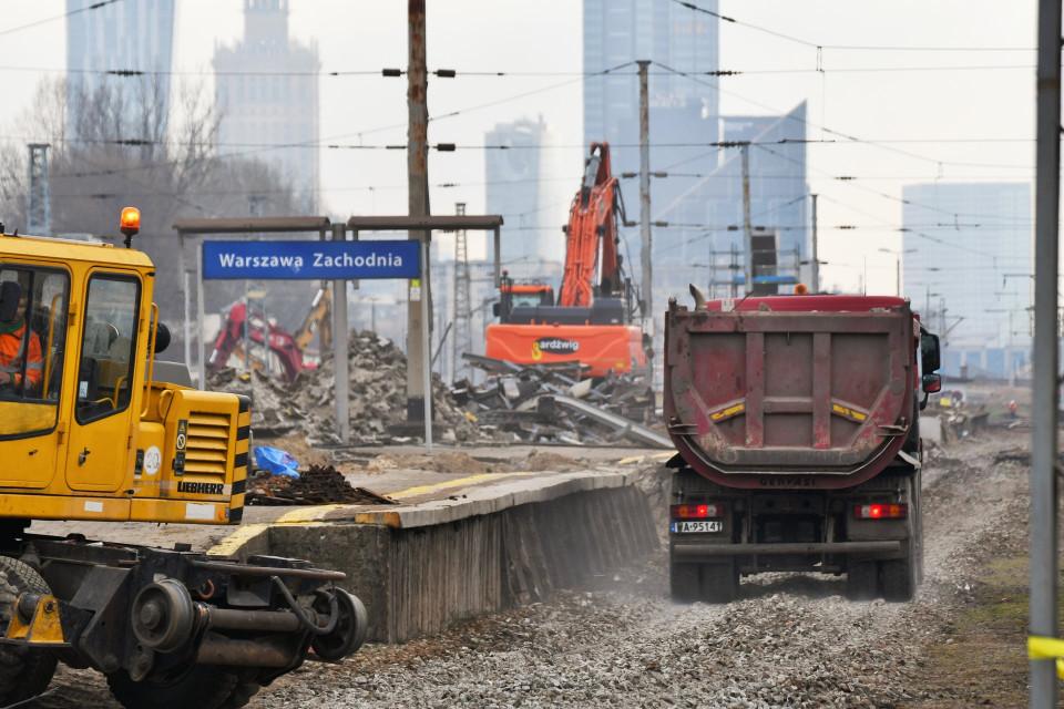 Warszawa Zachodnia: zaglądamy na plac budowy!