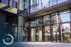 Certyfikat WELL Health-Safety dla Varso Place