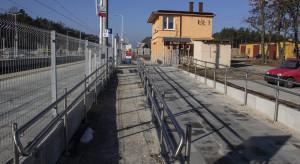 Przystanek Wierna Rzeka z nowymi peronami