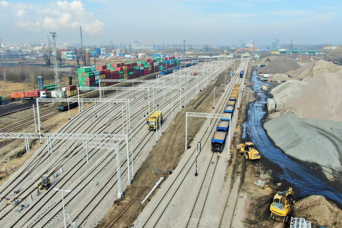 Konstrukcja ponad 100-metrowego wiaduktu w Gdańsku już gotowa