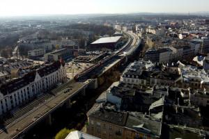Zaglądamy na budowę estakad kolejowych w Krakowie