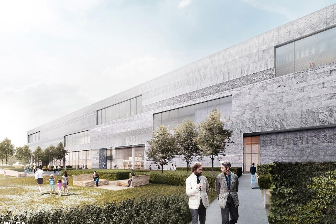 Gmach Muzeum Historii Polski gotowy we wrześniu 2022 roku