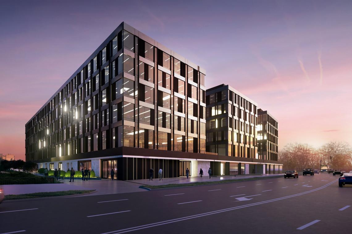 Biurowa bryła w Białymstoku z pozwoleniem na budowę