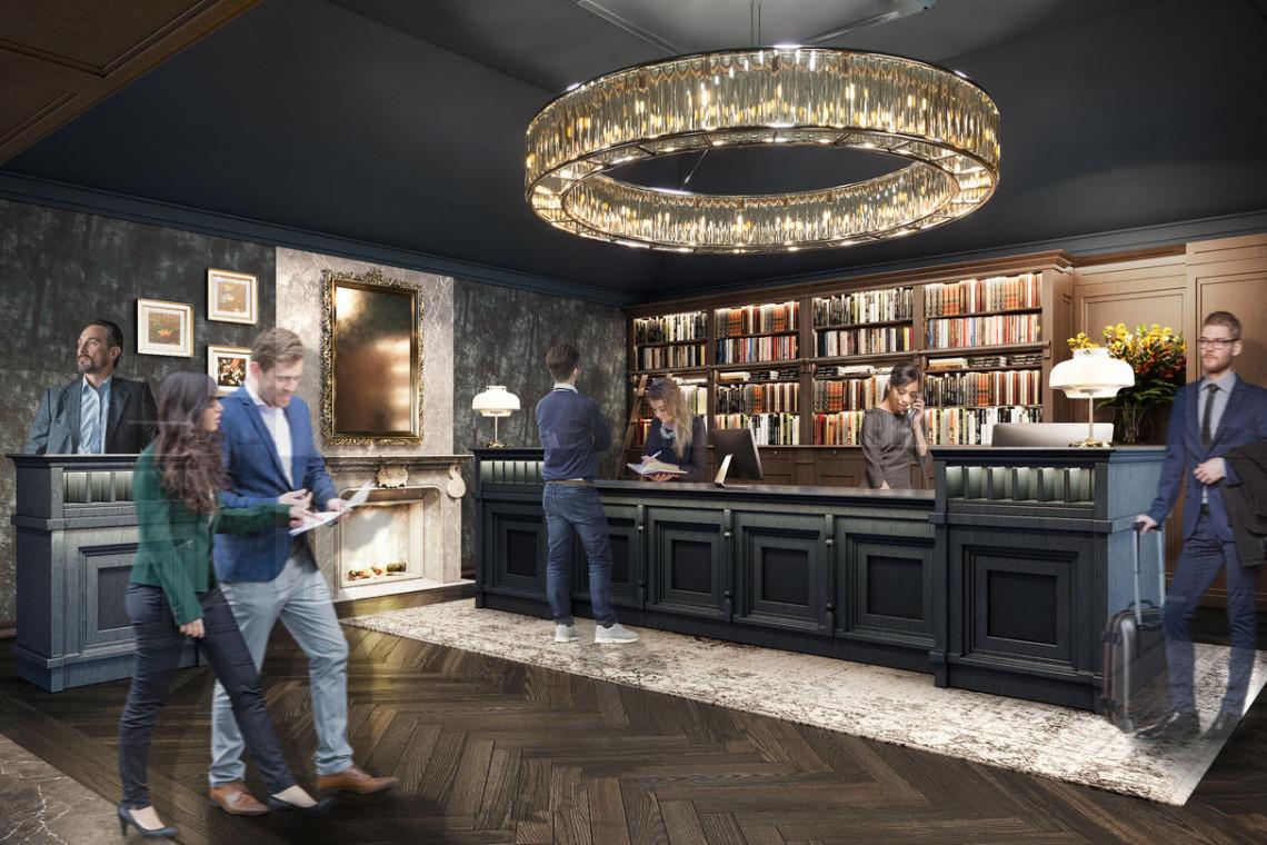 Legendarny brytyjski hotel przejdzie metamorfozę spod kreski Iliard