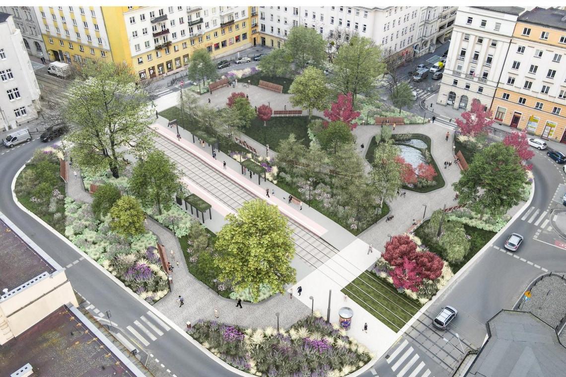 Jest wizja aranżacji poznańskiego placu Cyryla Ratajskiego