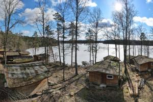 Ruciane Park: Zaniedbany kompleks wypoczynkowy przemienili w urokliwy zakątek nad jeziorem