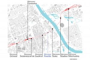 Szykuje się wielka modernizacja warszawskiej linii średnicowej