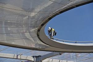 Nad Rynkiem Łazarskim powstaje innowacyjny dach