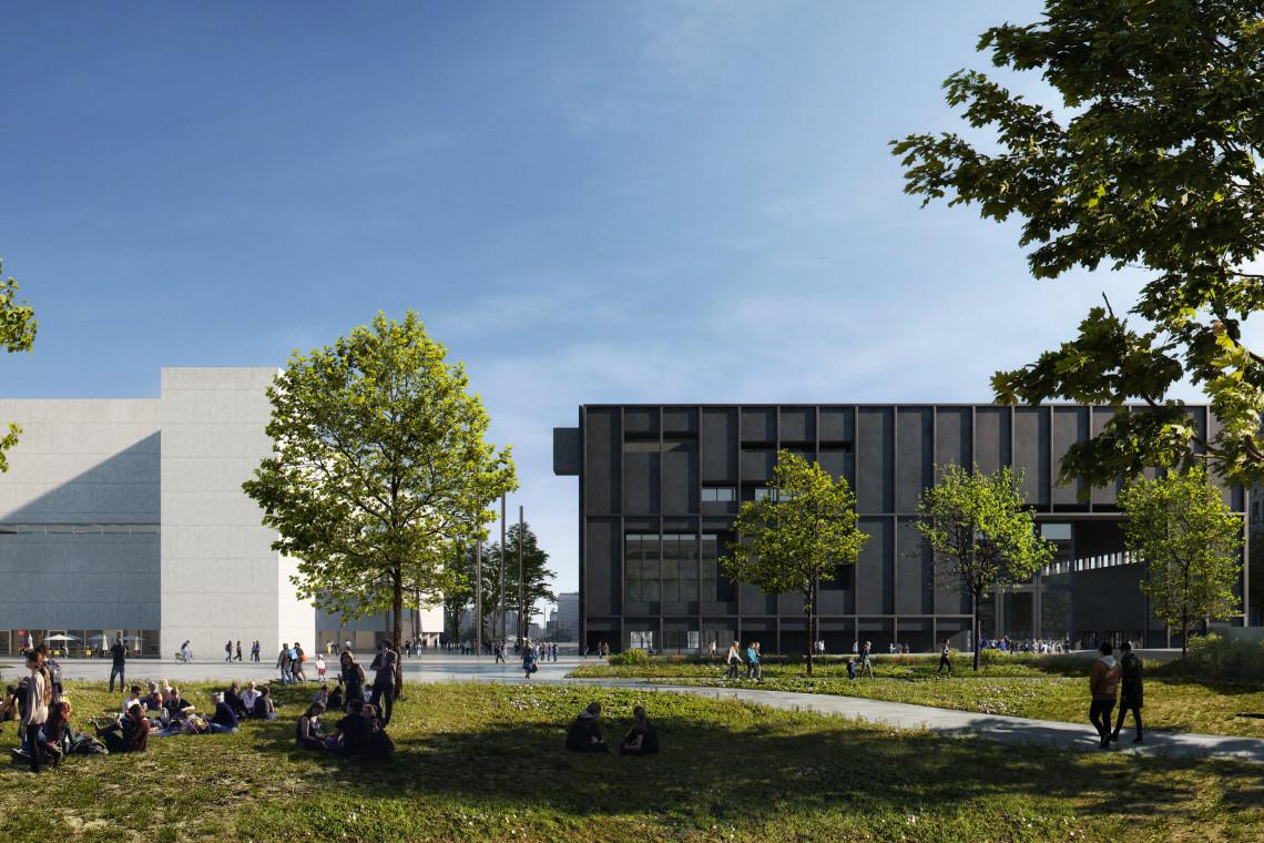 Kończy się kolejny etap budowy Muzeum Sztuki Nowoczesnej