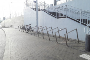 Kolej przyjazna rowerzystom. Przybywa miejsc do zaparkowania rowerów