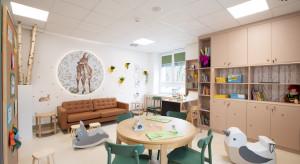 Zainspirowana naturą kolorowa Strefa Rodzica powstała w białostockim szpitalu