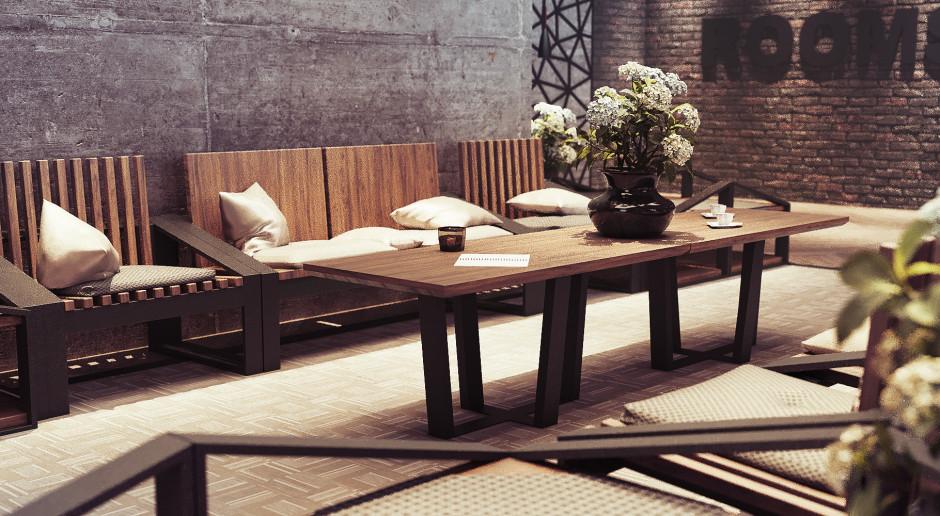Surowcami, z jakich produkowane są meble spod szyldu Loftable są przede wszystkim drewno i stal.
