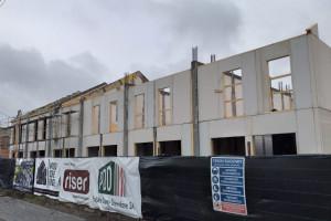 Zaglądamy na budowę drewnianego osiedla w Łodzi