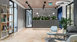 W tym biurze nowoczesność miesza się z art déco. Oto najnowszy projekt pracowni Bit Creative Barnaba Grzelecki