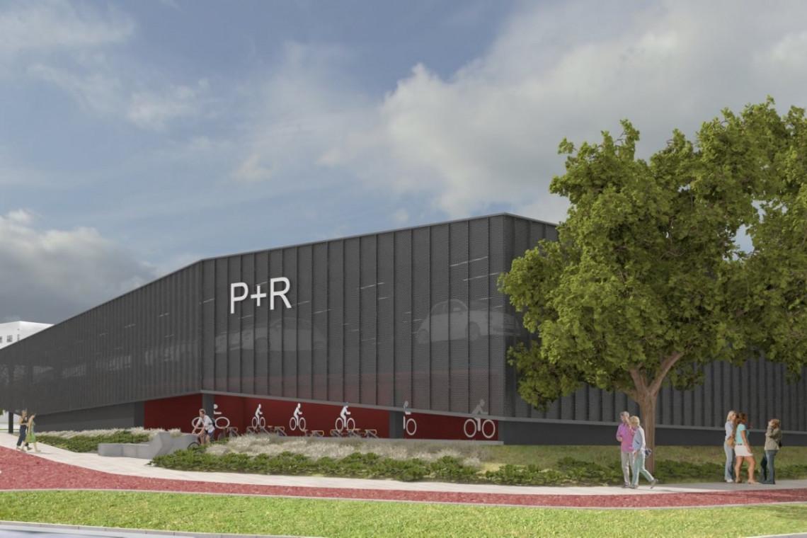 Rusza budowa parkingu Park&Ride w Tychach