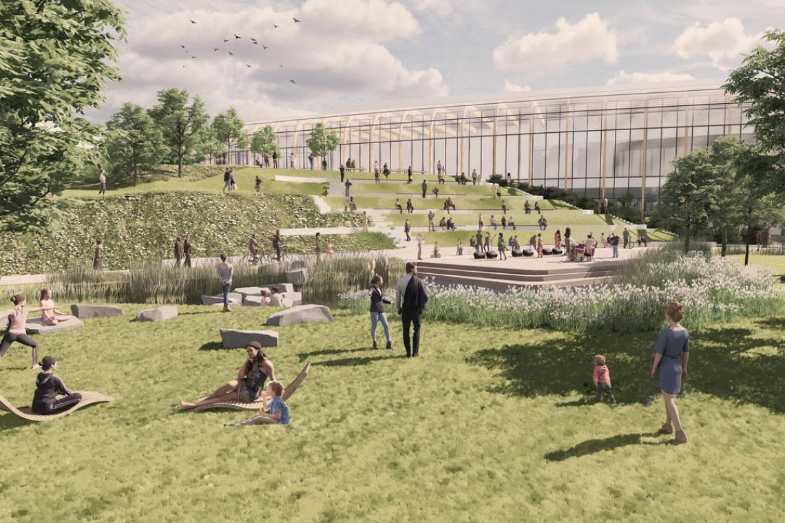 Tak będzie wyglądać park miejski w Wilanowie. Znamy zwycięską koncepcję