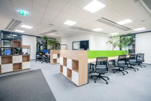 Inspiracje Krakowem i kinem. Tak wygląda biuro Saba Software/Cornerstone w kompleksie High5ive