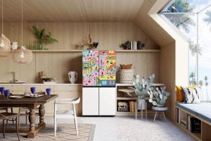 Artyści we współpracy z Samsung wprowadzają sztukę do domowych wnętrz