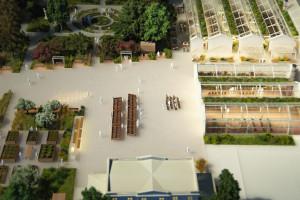 Rozpoczynają się prace budowlane w Ogrodach Ulricha. To projekt WXCA i LAB3