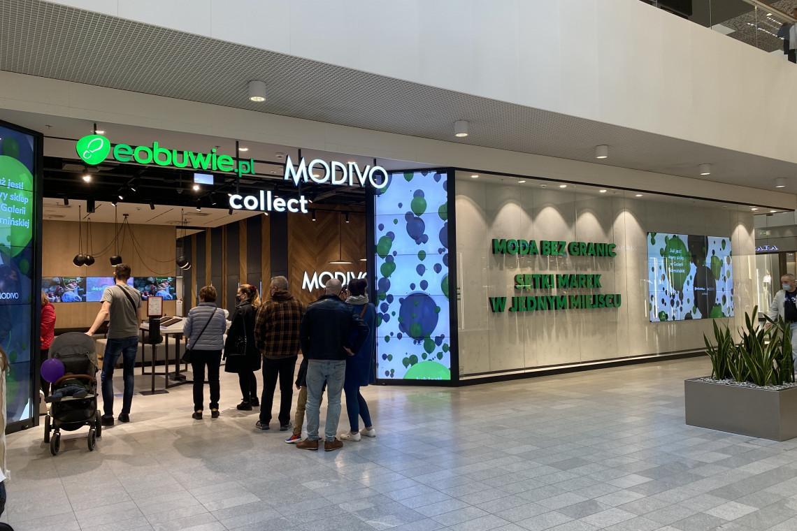 Pierwszy w kraju wspólny salon eobuwie.pl i Modivo Collect otwarty