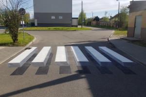 W Częstochowie powstało przejście dla pieszych 3D