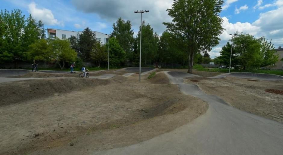 W łódzkim parku powstał pumptrack