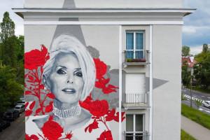 Kolejny mural z Korą w roli głównej. To dzieło Tomasza Majewskiego i Good Looking Studio