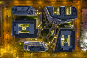 Kompleks biurowy po modernizacji w duchu zrównoważonego rozwoju
