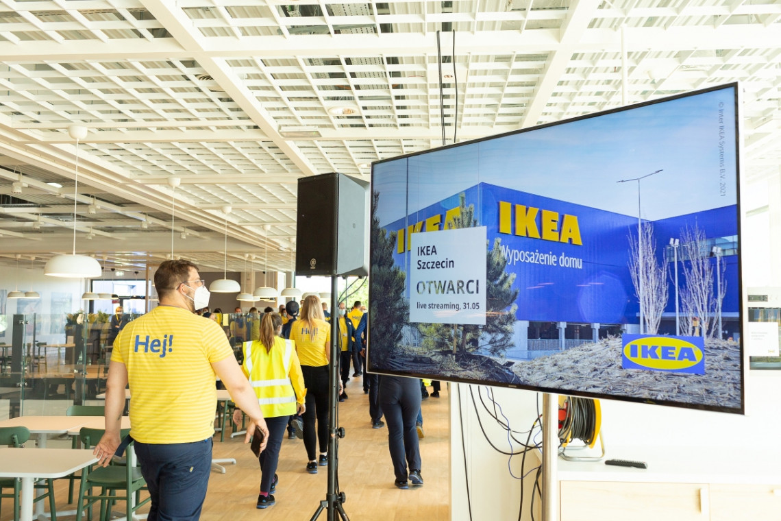 W Szczecinie swoje podwoje otworzyła nowa IKEA. Z naciskiem na zrównoważony rozwój