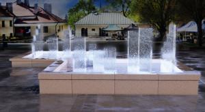 Tak będzie wyglądać fontanna na Małym Rynku w Sandomierzu. Konkurs rozstrzygnięty!