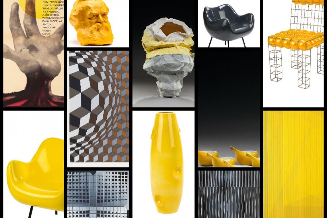 Ikony designu na wystawie zainspirowanej kolorami roku